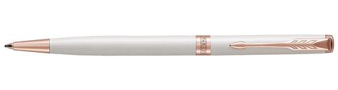 Шариковая ручка Parker Sonnet Slim Pearl White Lacquer PGT