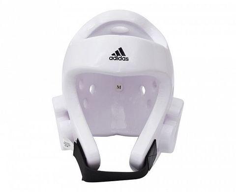 Шлем для тхэквондо Head Guard Dip Foam WT белый