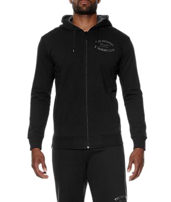 Мужская толстовка с капюшоном Asics Graphic Hoodie (131467 0904) черная фото