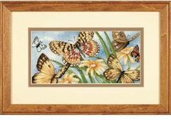 DIMENSIONS Виньетка с бабочками (Butterfly Vignette)