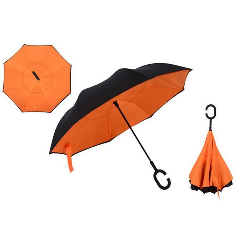 Оранжевый цвет зонта