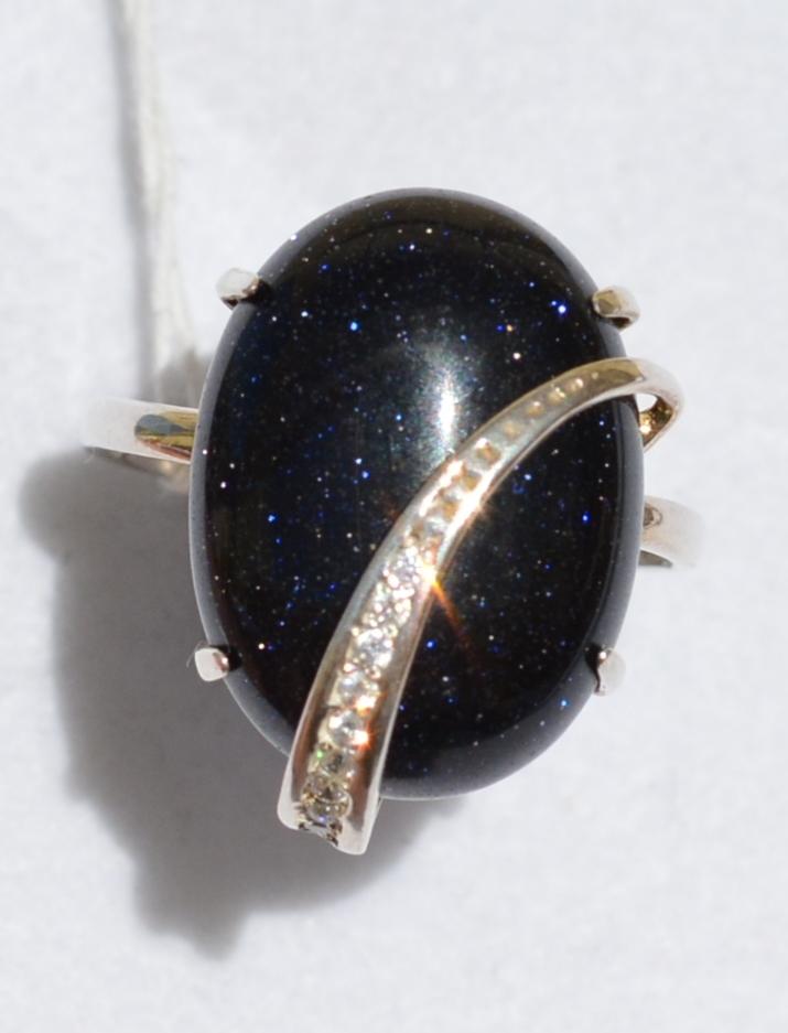 Соната (кольцо из серебра)