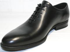 Классические туфли для мужчин Ikos 006-1 Black