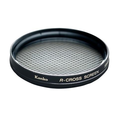 Эффектный фильтр Kenko Pro 1D R-Cross Screen W на 77mm (4 луча)