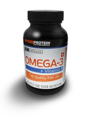 Pure Protein Omega-3 (60 caps.)