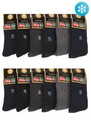 2427 носки детские утепленные, цветные (12шт)