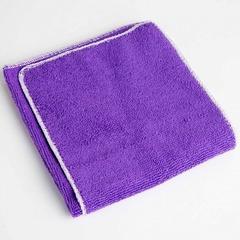 Набор из 2-х чистящих салфеток для автомобиля из микрофибры 14МР-026/2 фиолетовый