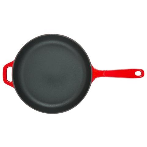 Сковорода чугунная красная, артикул EC11S43