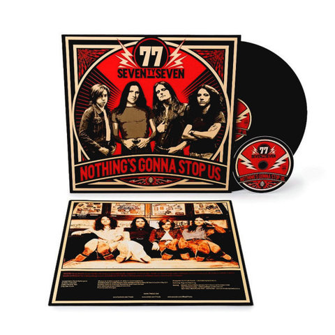 77 / Nothing's Gonna Stop Us (LP+CD)