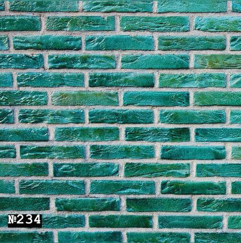 Фотофон виниловый «Зеленый кирпич» №234