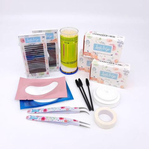 Стартовый набор для наращивания ресниц Lash&Go Basic