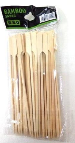 Набор шампуров, бамбук, 18см  50шт