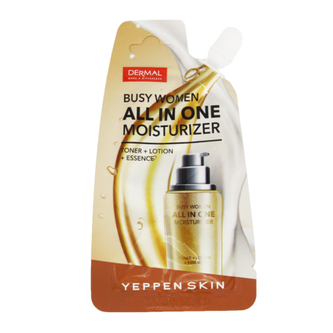 Крем для лица 3в1 женский Yeppen Skin Busy Woman All In ALL Moisturize, 15 г