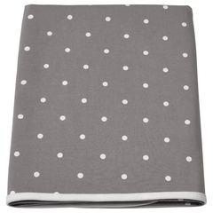 ЛЕН Пеленальная подстилка, точечный, серый, 90x70 см