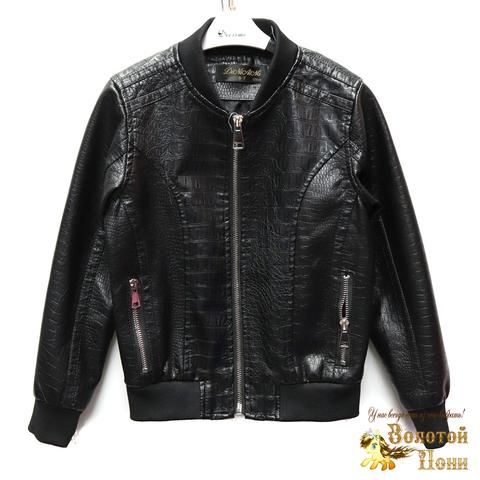 Куртка экокожа мальчику (5-10) 200318-W237.2