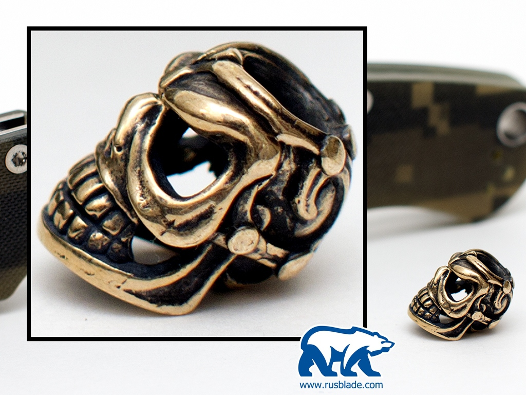 "Custom Sword Knot ""Skull #1"" Limited Edition"