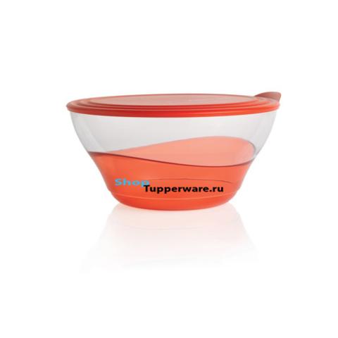 Элегантность чаша (4,6л) в красном цвете