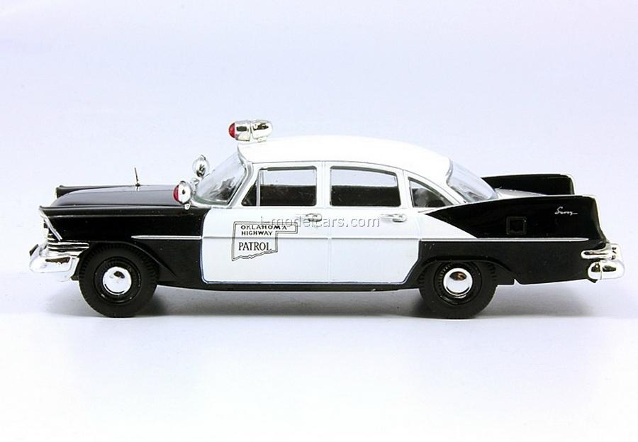 Plymouth Savoy Oklahoma USA 1:43 DeAgostini World's Police Car #21