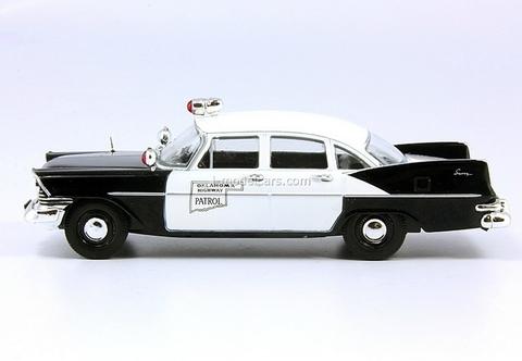 Plymouth Savoy Highway Patrol Oklahoma 1:43 DeAgostini World's Police Car #21