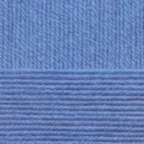 Купить Пряжа Пехорка Детская новинка Код цвета 015-Т.Голубой   Интернет-магазин пряжи «Пряха»