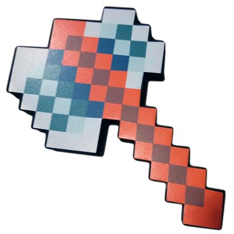Топор пиксельный Майнкрафт (Minecraft) Железный
