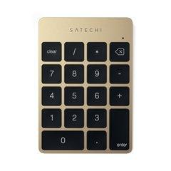 Беспроводной цифровой блок клавиатуры Satechi Aluminum Slim Keypad Numpad золотой