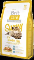 Корм для длинношерстых кошек, Brit Care Cat Sunny Beautiful Hair