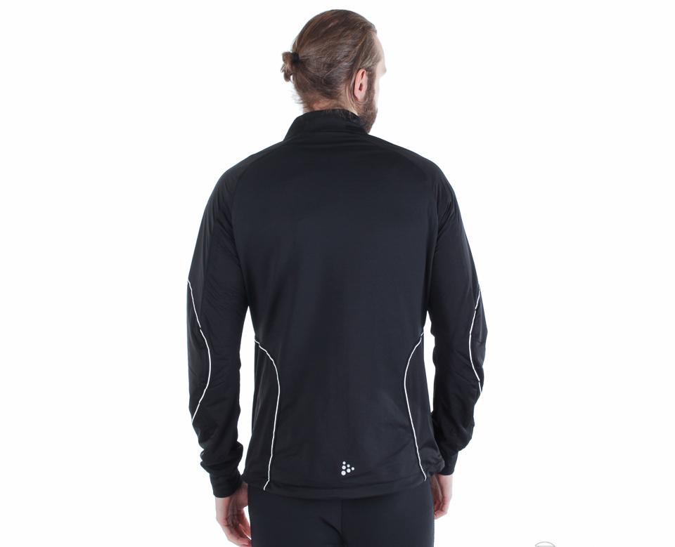 Мужская лыжная куртка Craft Performance XC High Function (1902269-9900) сзади