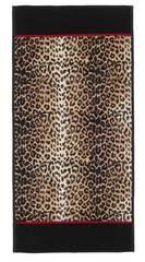 Полотенце 75x150 Feiler Safari 10 schwarz