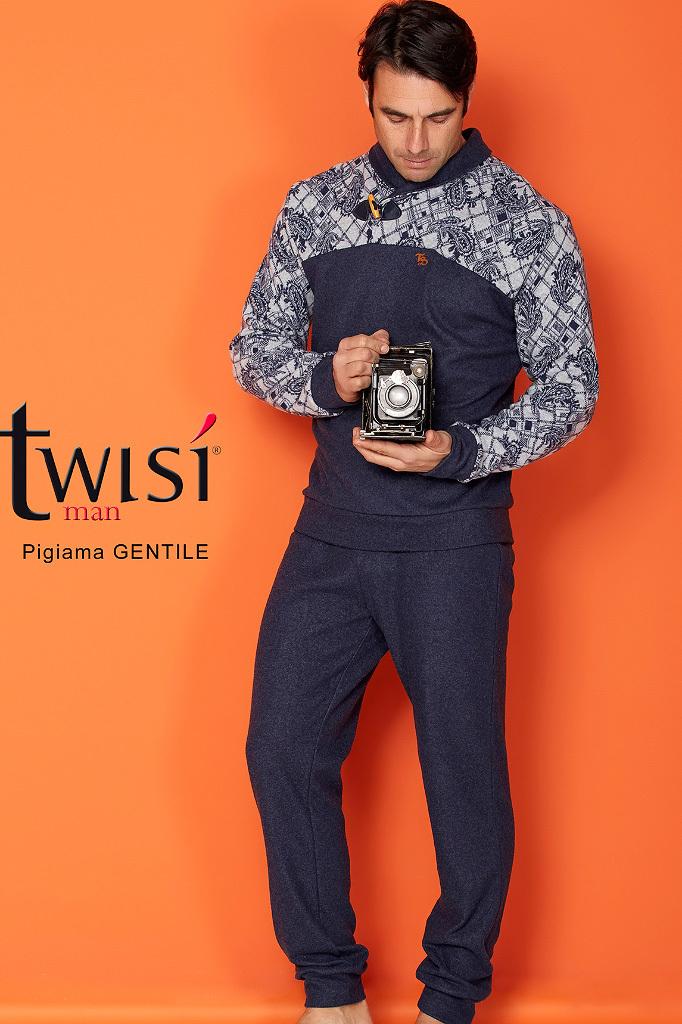 Зимний домашний костюм для мужчин Twisi