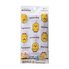 Мочалка детская, KOKUBO, марлевая, Furocco Kids, Желтый утенок, 26*80 см