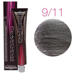 L'Oreal Professionnel Dia Richesse 9.11 (Холодный пепел) - Краска для волос