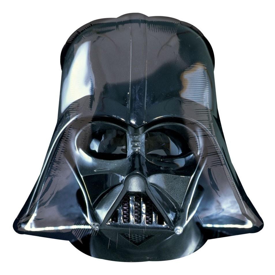Звездные войны Шар фольга Шлем Вейдера 1209.jpg