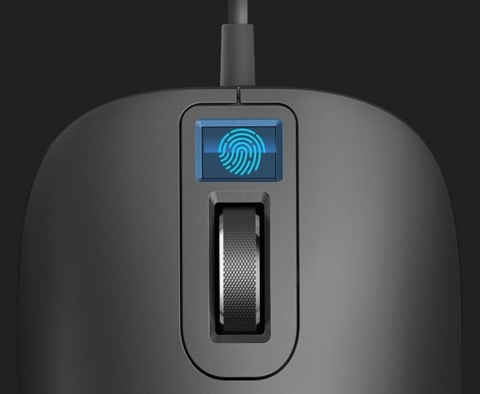 Мышь Xiaomi Jesis Smart Fingerprint Mouse Black