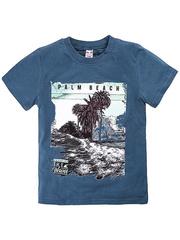 BK003-33 футболка детская, синяя