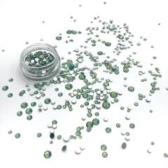 Стразы Mix OPAL GREEN