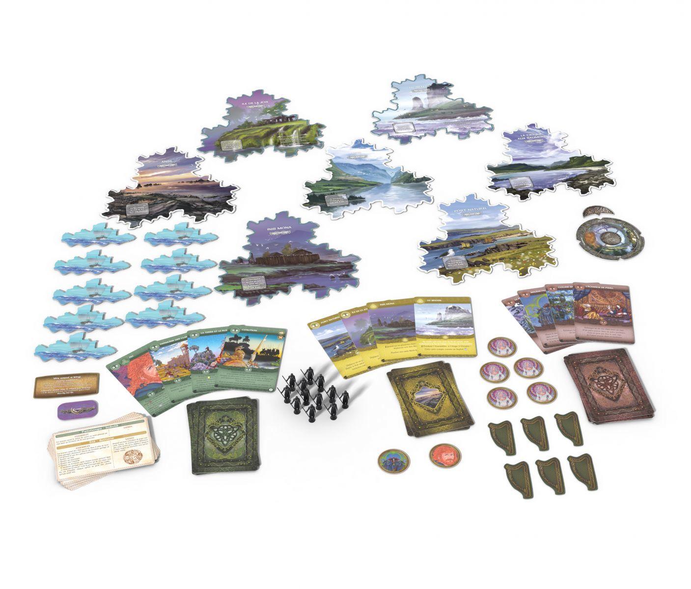 Настольная игра Иниш: Сезоны (дополнение)