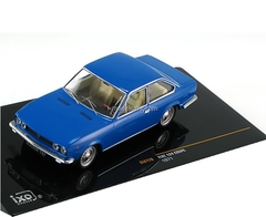 Fiat 124 Coupe 1971 blue IXO 1:43