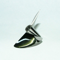 CNC propeller M444 Traxxas Spartan stainless steel