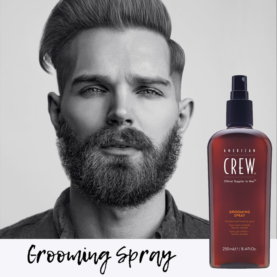 Image result for american crew grooming spray