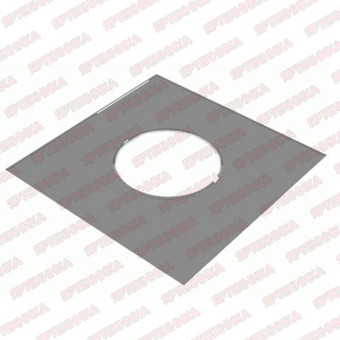 Фланец декоративный d120мм 500х500мм (430/0,5 мм) Ferrum