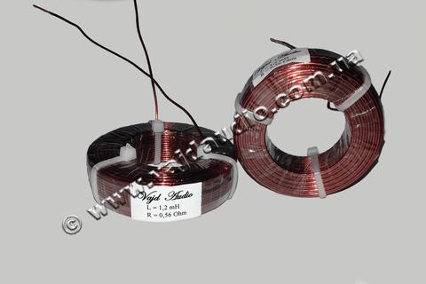 Катушка индуктивности Vajd Audio 1,2 mH*0,56 Ohm* 1 mm