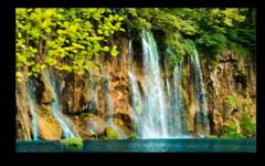 """Постер """"Горный водопад"""""""