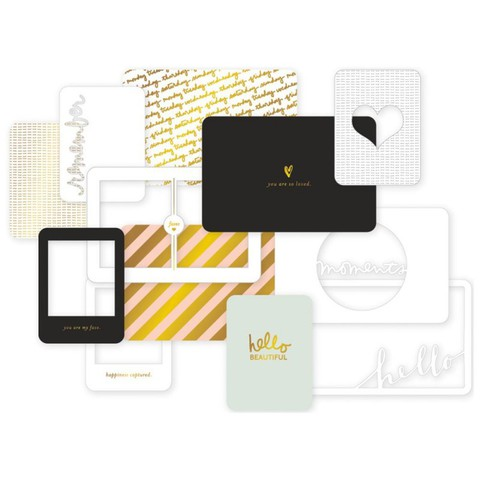 """Набор карточек """"Everyday"""" для Project life 12 шт"""