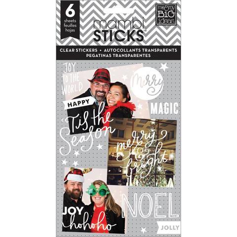 Блокнот со стикерами - Create 365 Planner Stickers- Joy To The World 12х23см/6л