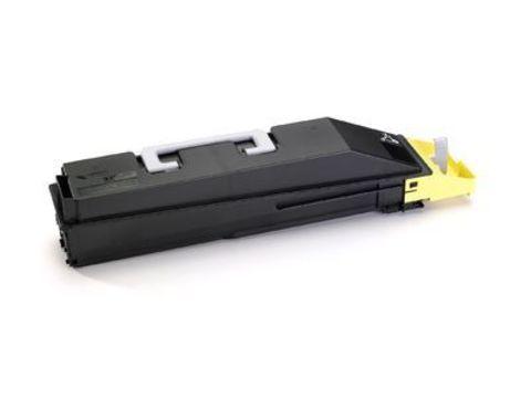 Kyocera TK-855Y - тонер-картридж желтый для Kyocera TASKalfa 400ci/500ci. Ресурс 18000 страниц
