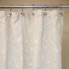 Шторка для ванной 200х240 Arti-Deco Embroidery 2803 Mix