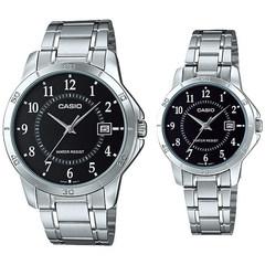 Парные часы Casio Standard: MTP-V004D-1BUDF и LTP-V004D-1BUDF
