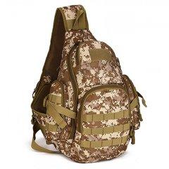 Тактический однолямочный рюкзак Mr. Martin 5053 DIGITAL DESERT