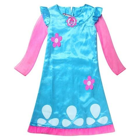 Тролли детское платье Принцесса Розочка